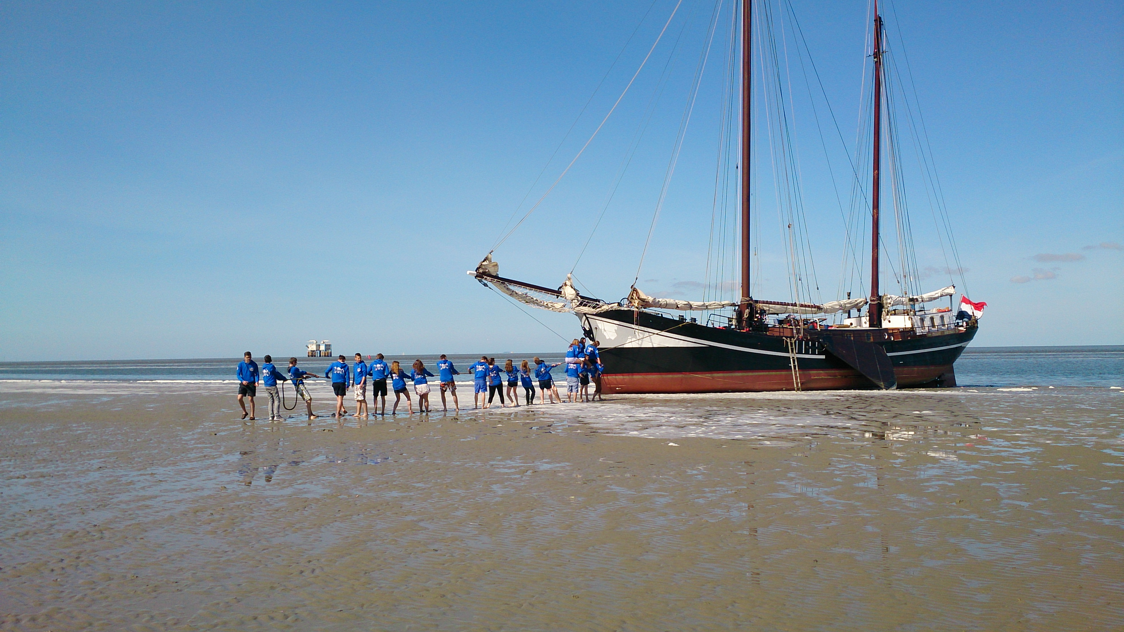 Jugendsegeltörn Wattenmeer